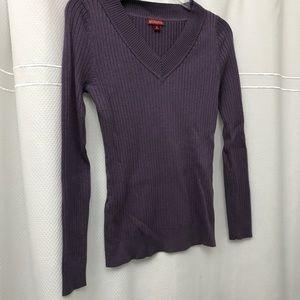 Merona v-neck purple sweater